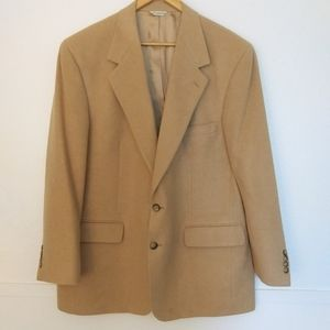Bill Blass Vintage 100% Camel Hair Jacket (USA)